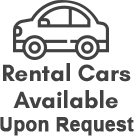 Rental Cars Available